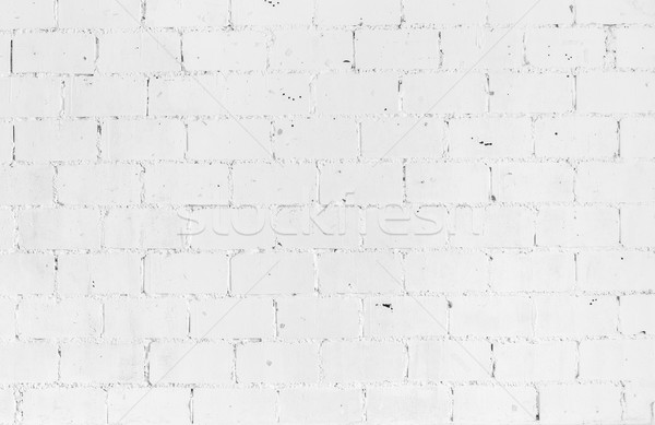 White vintage brickwall Stock photo © vichie81