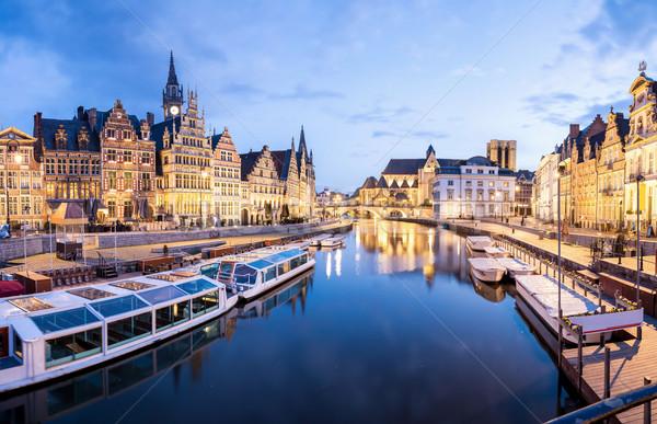 Ghent Belgium Stock photo © vichie81