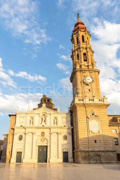 Zaragoza Cathedral Stock photo © vichie81