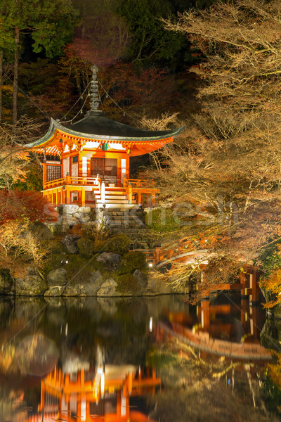 Daigoji Temple Kyoto Japan night Stock photo © vichie81