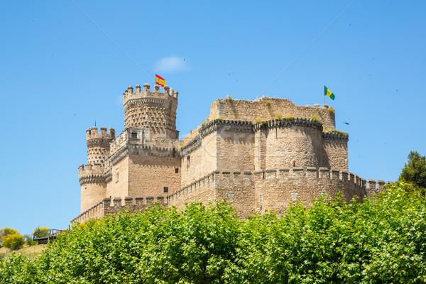 城 本当の スペイン 建物 石 ヨーロッパ ストックフォト © vichie81
