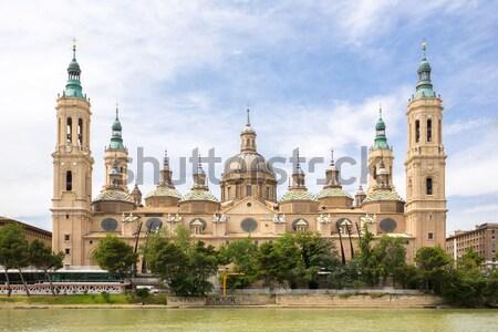 Zaragoza Basilica Spain Stock photo © vichie81