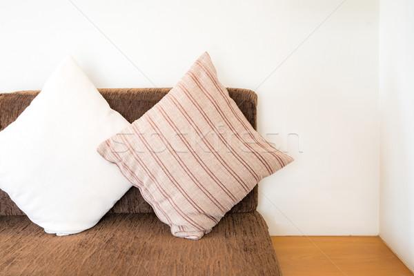 Pillow on sofa Stock photo © vichie81