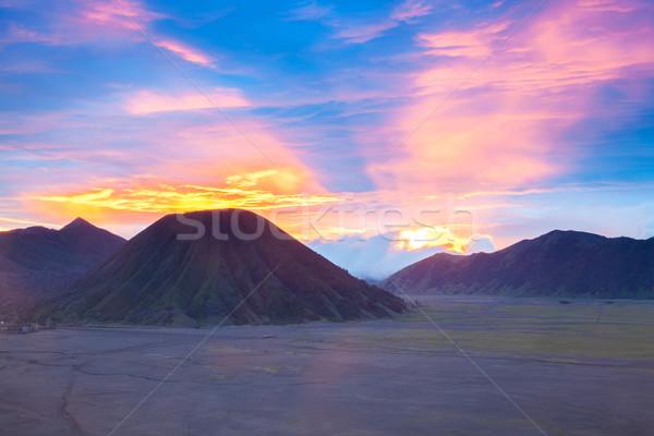 Bromo Mountain Indonesia Stock photo © vichie81
