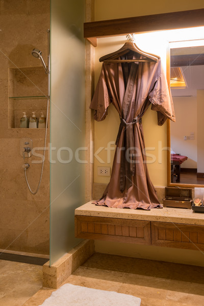 bathrobe Stock photo © vichie81
