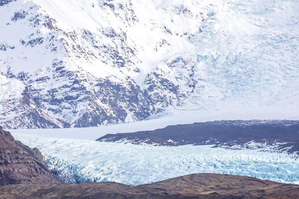 Ghiacciaio parco Islanda natura panorama sfondo Foto d'archivio © vichie81