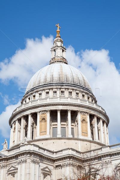 Catedral cúpula Londres Inglaterra Reino Unido Foto stock © vichie81