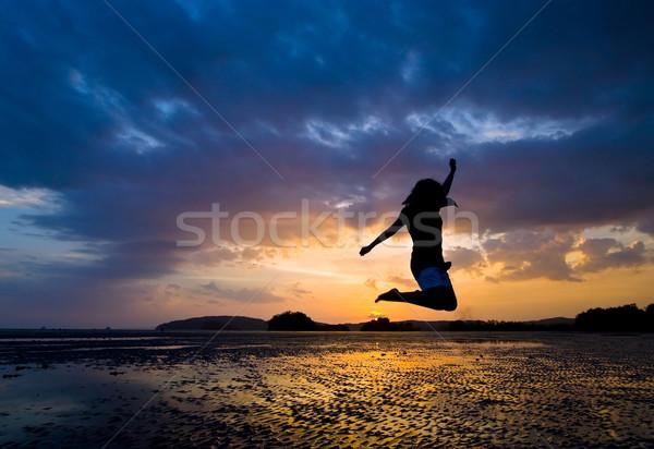 jumper Stock photo © vichie81