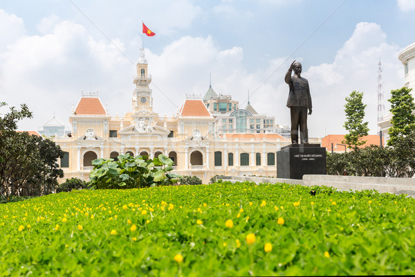 Ho Chi Minh City Hall  Stock photo © vichie81