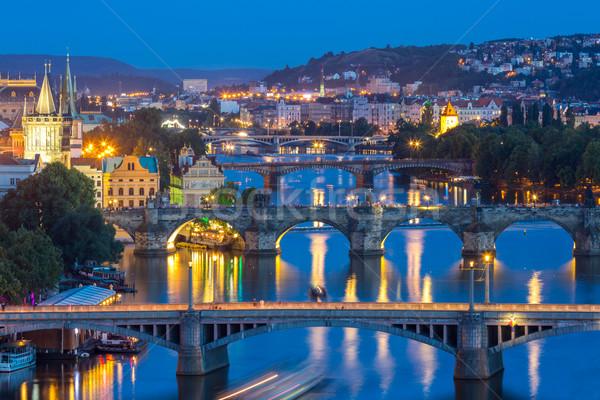 Prague Czech Republic Stock photo © vichie81