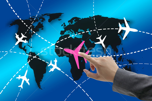business travel concept Stock photo © vichie81
