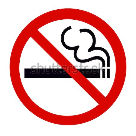 No Smoking Stock photo © vichie81