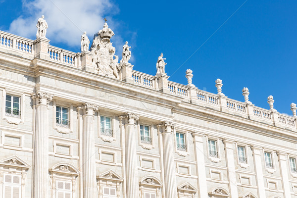 Royal Palace, Madrid, Spain Stock photo © vichie81