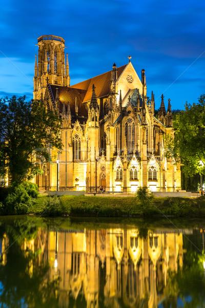 St John's Church Stuttgart, Germany Stock photo © vichie81