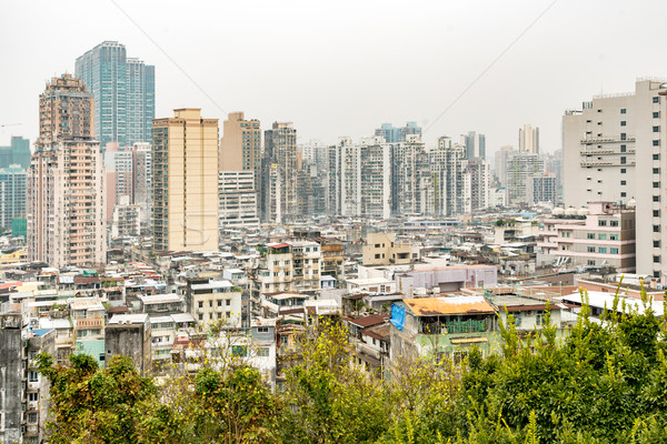 Macau old town Stock photo © vichie81