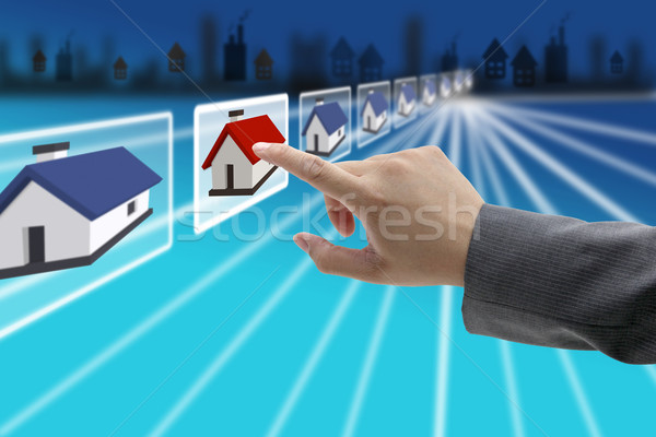 real estate business Stock photo © vichie81