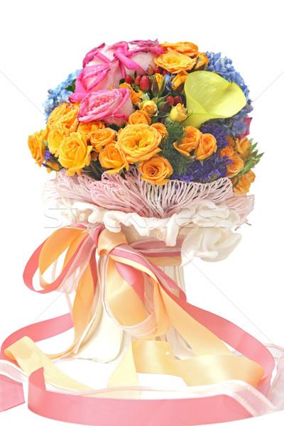 flowers bouquet Stock photo © vichie81