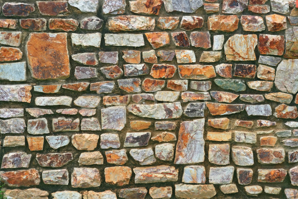 Stone Wall Background Stock photo © vichie81