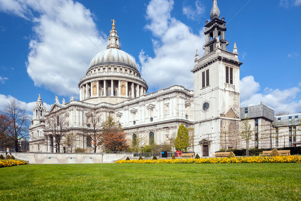 St. Paul Cathedral UK Stock photo © vichie81