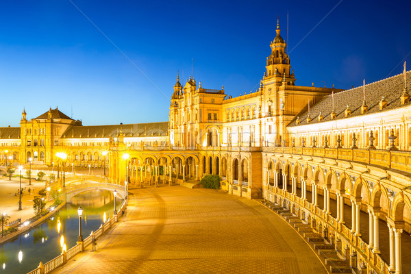 espana Plaza Sevilla Spain Stock photo © vichie81
