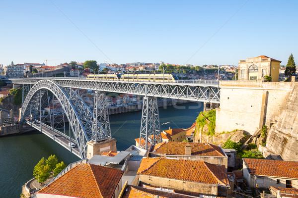 Dom Luiz bridge Porto Stock photo © vichie81