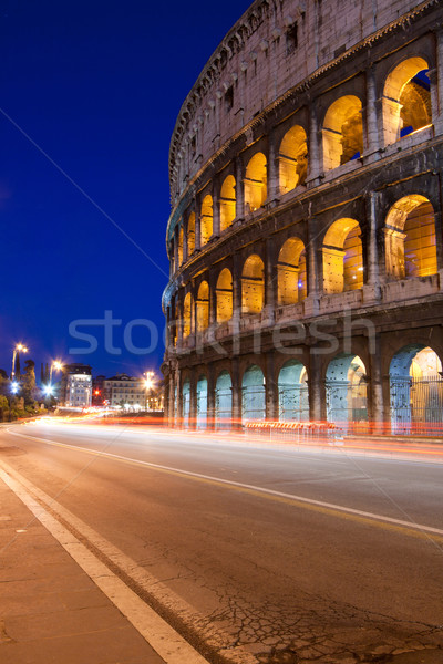 colosseum night Stock photo © vichie81