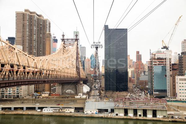 New York Midtown Stock photo © vichie81