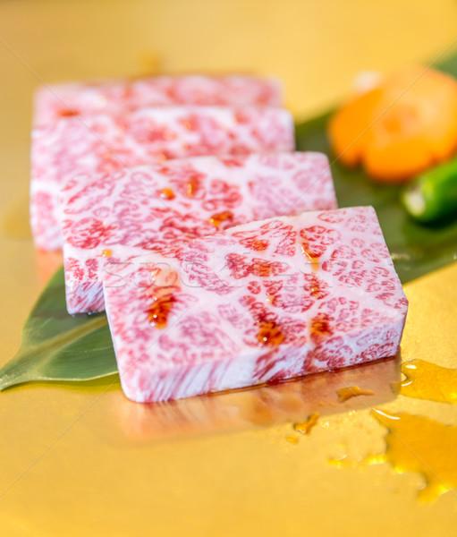 wagyu short rib matsusaka Stock photo © vichie81