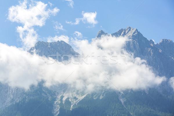 Alpine alpler dağ manzara üst Almanya Stok fotoğraf © vichie81