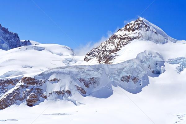 Сток-фото: Альпы · регион · небе · снега · горные · льда