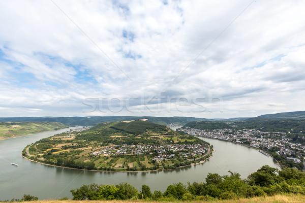 Boppard River Rhine Germany Stock photo © vichie81