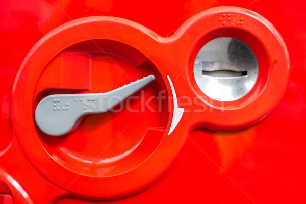 vending Machine Coin insert Stock photo © vichie81