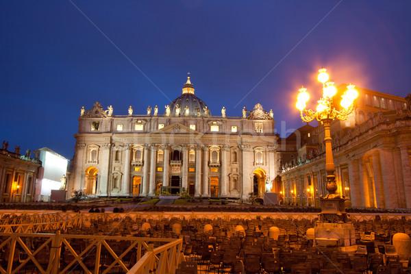 Foto d'archivio: Vaticano · Roma · Italia · basilica · cattedrale