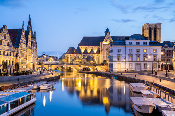 Ghent Belgium Stock photo © vichie81