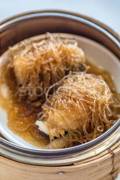 dim sum Sea Bass with vermicelli Stock photo © vichie81