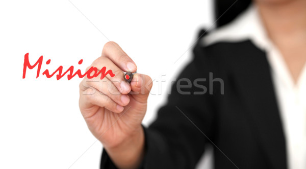 business mission Stock photo © vichie81