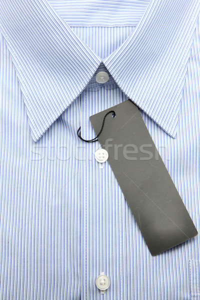blue business shirt Stock photo © vichie81