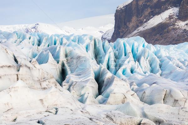 ледник парка небе воды лет льда Сток-фото © vichie81