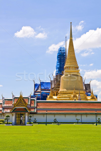 Pagoda tempio palazzo Bangkok Thailandia Foto d'archivio © vichie81