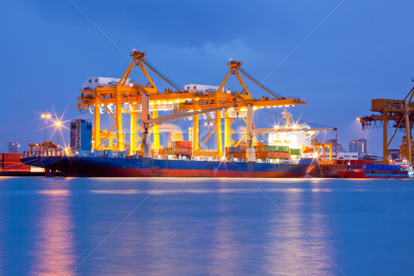 Container Cargo freight ship Stock photo © vichie81