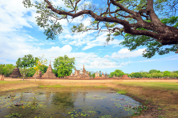 Sukhothai historical park Stock photo © vichie81