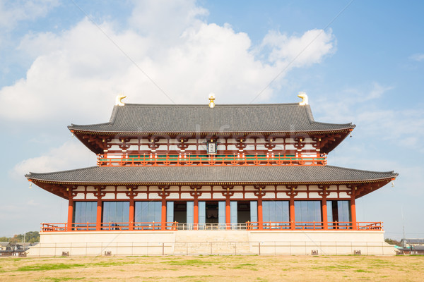 Heijo Palace in Nara Stock photo © vichie81