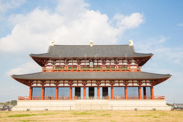Palácio ouvir Japão unesco mundo herança Foto stock © vichie81