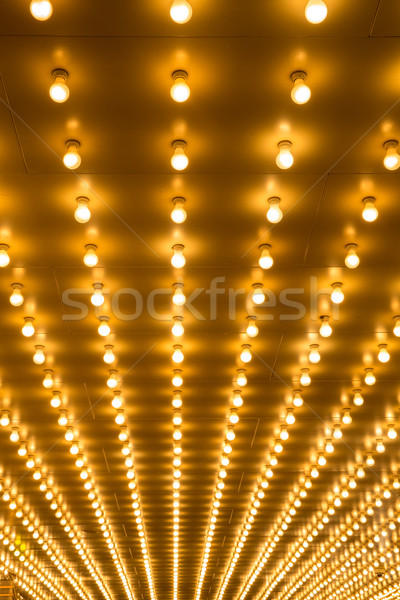 marquee lights Stock photo © vichie81