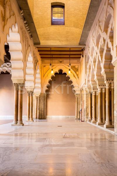 Zaragoza alcazar Corridor  Stock photo © vichie81