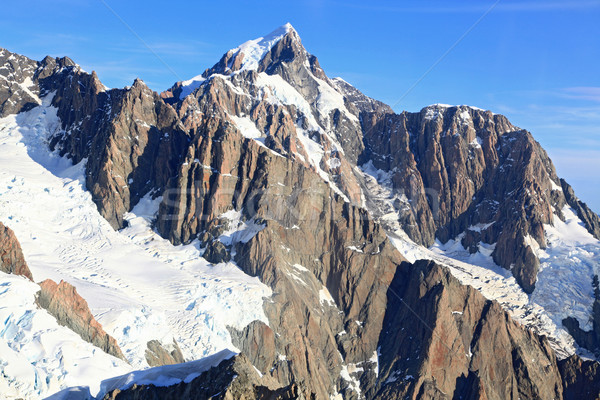 aerial view of suthern alpine alps Stock photo © vichie81