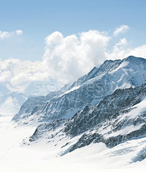 Aletsch Glacier Switzerland Alps Stock photo © vichie81