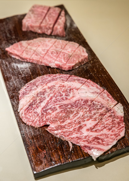 wagyu A5 Beef Stock photo © vichie81