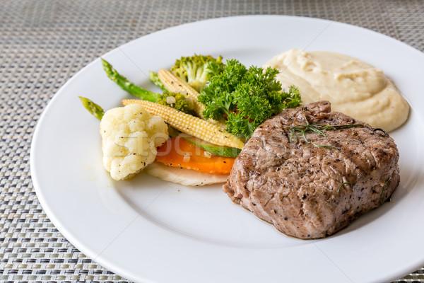 grilled fillet steak Stock photo © vichie81