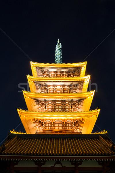 Sensoji temple Tokyo Stock photo © vichie81